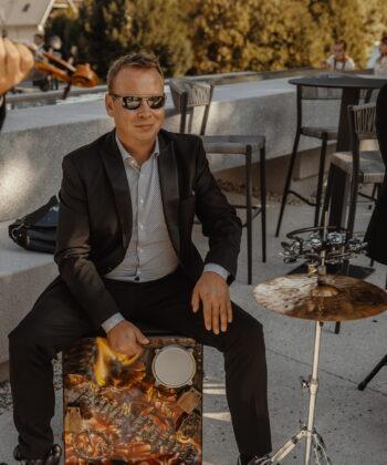 Martin Oražem, bobnar in tolkalist